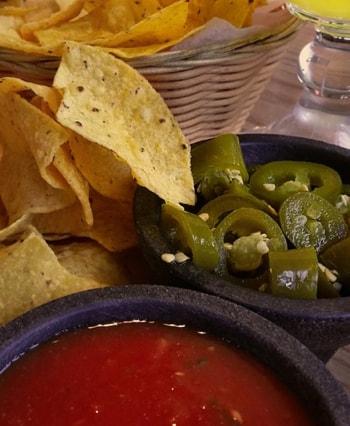 Corn Tortillas and Salsa