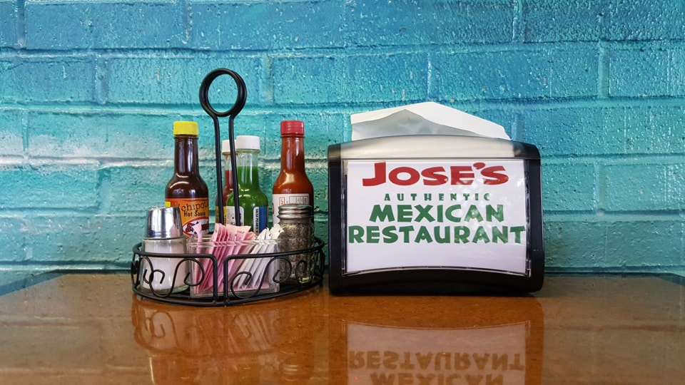 Your table at Jose's is ready for you